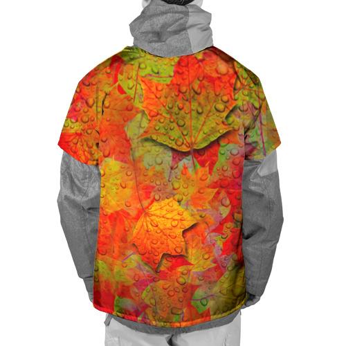 Накидка на куртку 3D  Фото 02, Лист клёна
