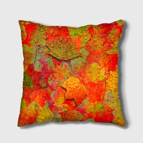 Подушка 3D  Фото 01, Лист клёна