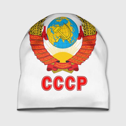 Шапка 3D  Фото 01, Герб СССР
