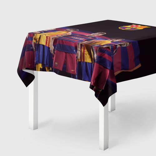 Скатерть 3D  Фото 01, ФК Барселона