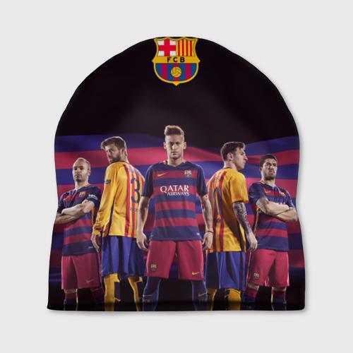 Шапка 3D ФК Барселона