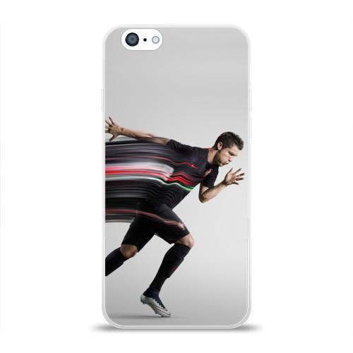 Чехол для Apple iPhone 6 силиконовый глянцевый  Фото 01, Cristiano Ronaldo