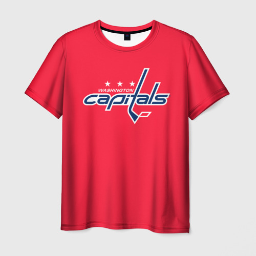 Мужская футболка 3D  Фото 03, Washington Capitals Ovechkin