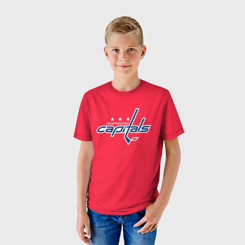 Детская футболка 3D  Фото 01, Washington Capitals Ovechkin
