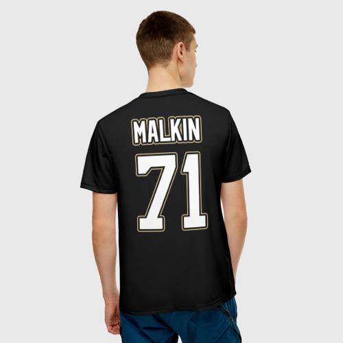 Мужская футболка 3D  Фото 02, Pittsburgh Penguins Malkin