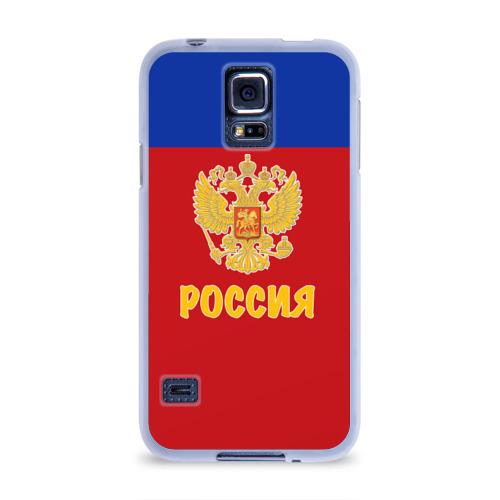 Чехол для Samsung Galaxy S5 силиконовый  Фото 01, Сборная России по Хоккею