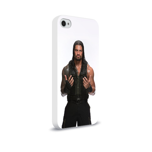 Чехол для Apple iPhone 4/4S soft-touch  Фото 02, Roman Reigns