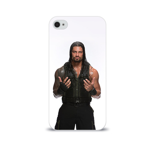 Чехол для Apple iPhone 4/4S soft-touch  Фото 01, Roman Reigns