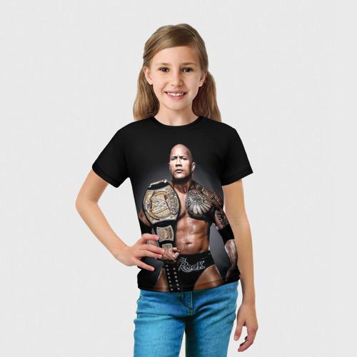 Детская футболка 3D  Фото 03, Dwayne Johnson