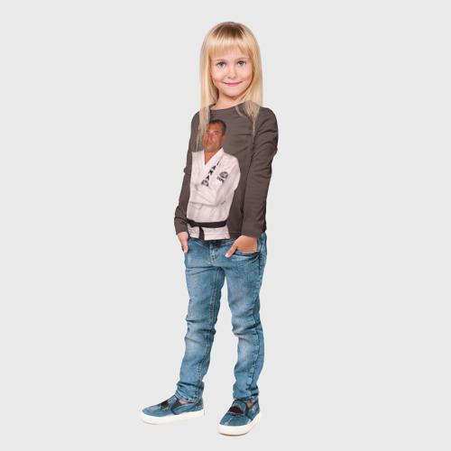 Детский лонгслив 3D  Фото 04, Грейси Ройс