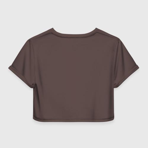 Женская футболка 3D укороченная  Фото 02, Грейси Ройс