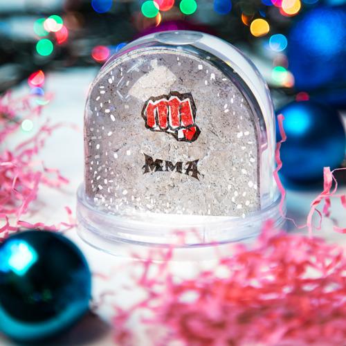 Водяной шар со снегом  Фото 03, MMA 2