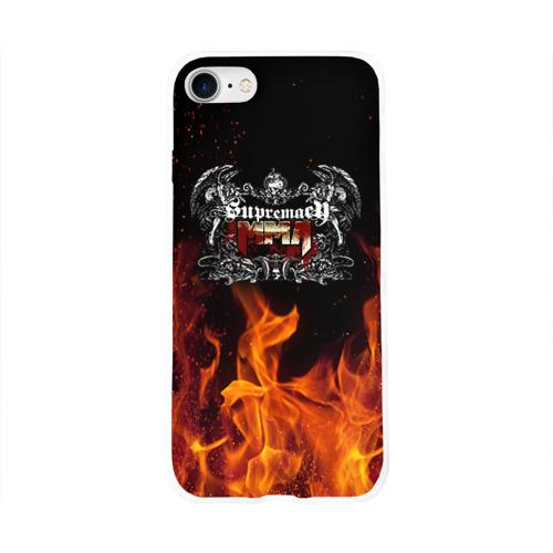 Чехол для Apple iPhone 8 силиконовый глянцевый  Фото 01, MMA 3