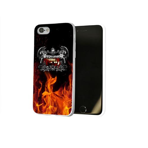 Чехол для Apple iPhone 8 силиконовый глянцевый  Фото 02, MMA 3