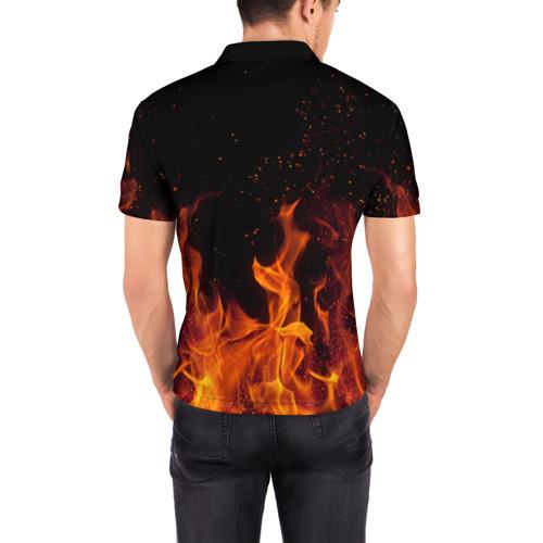 Мужская рубашка поло 3D  Фото 04, MMA 3
