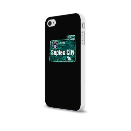 Чехол для Apple iPhone 4/4S soft-touch  Фото 03, Suplex city