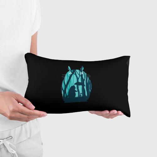Подушка 3D антистресс Тоторо в лесу Фото 01