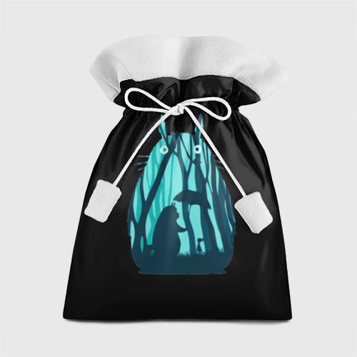 Подарочный 3D мешок Тоторо в лесу Фото 01