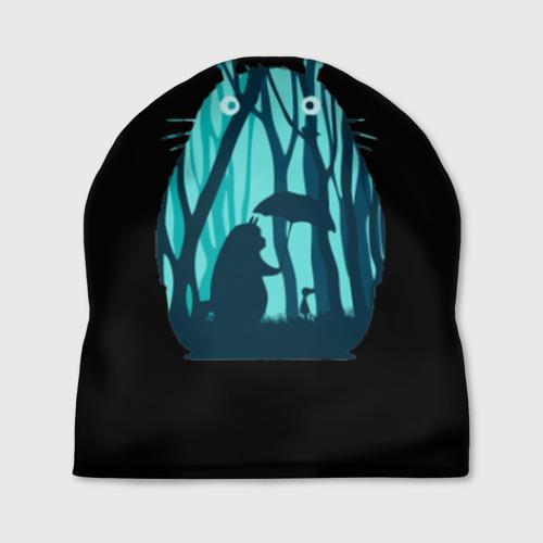 Шапка 3D Тоторо в лесу