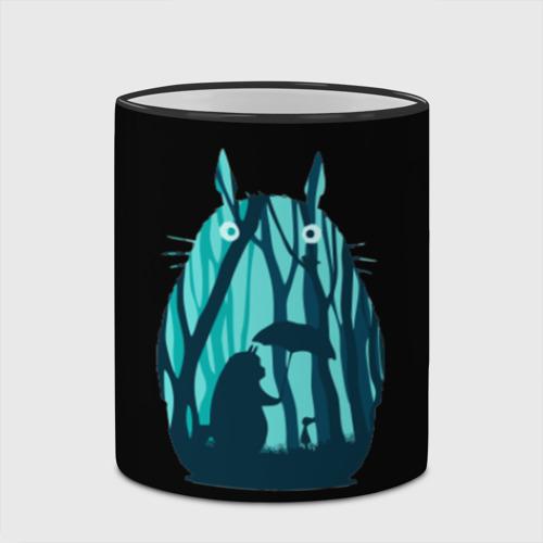 Кружка с полной запечаткой Тоторо в лесу Фото 01