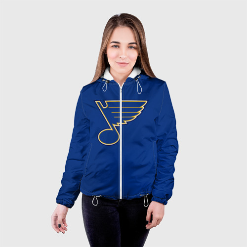 Женская куртка 3D  Фото 03, Saint louis blues Tarasenko 91