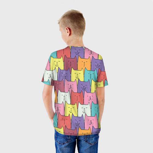 Детская футболка 3D  Фото 02, Котики