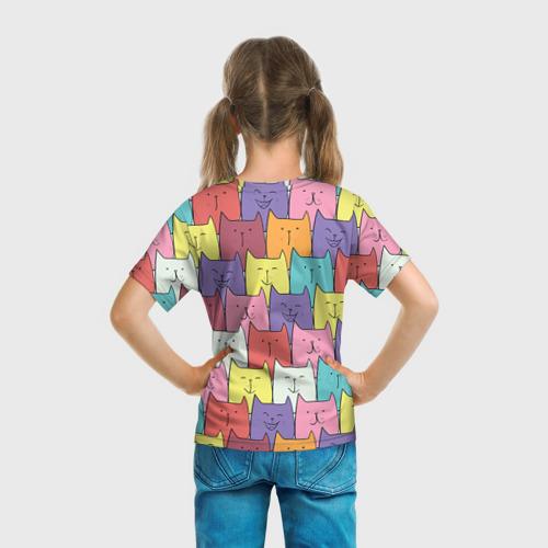 Детская футболка 3D  Фото 04, Котики