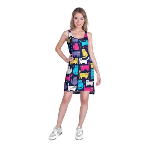 Платье-майка 3D  Фото 03, Котятки
