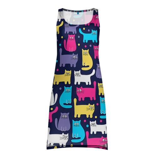 Платье-майка 3D  Фото 01, Котятки