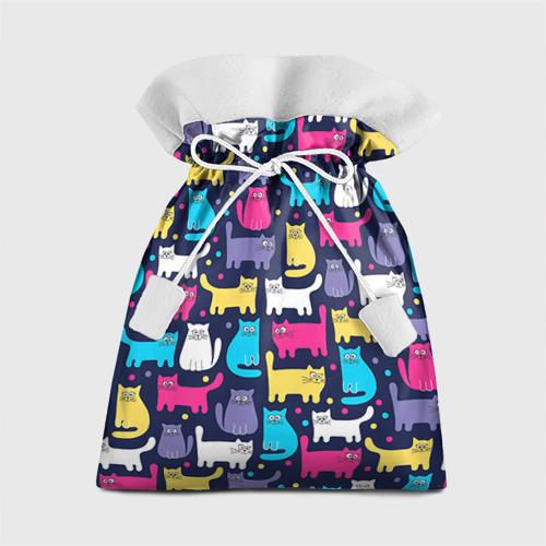 Подарочный 3D мешок Котятки Фото 01