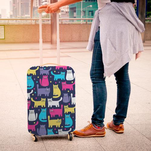 Чехол для чемодана 3D  Фото 04, Котятки
