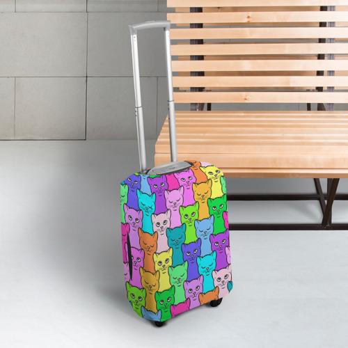 Чехол для чемодана 3D  Фото 03, Котятушки