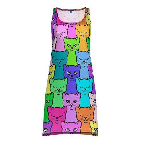 Платье-майка 3D Котятушки