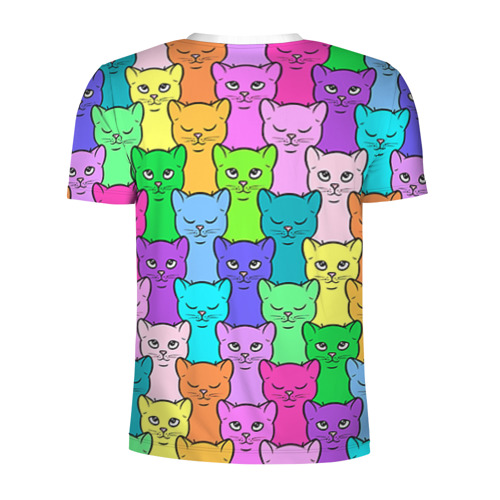 Мужская футболка 3D спортивная Котятушки
