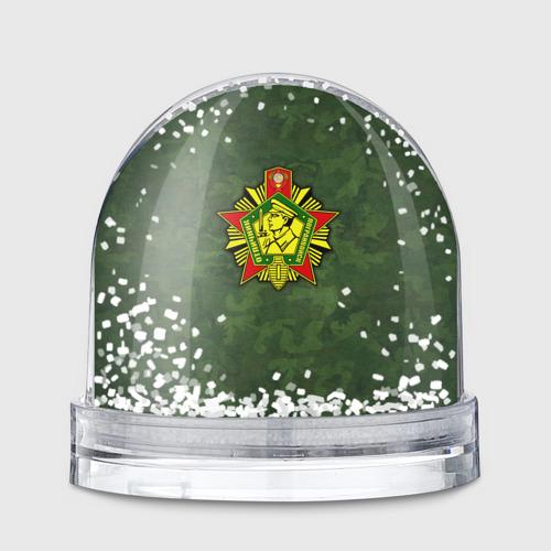 Снежный шар Отличник погранвойск Фото 01