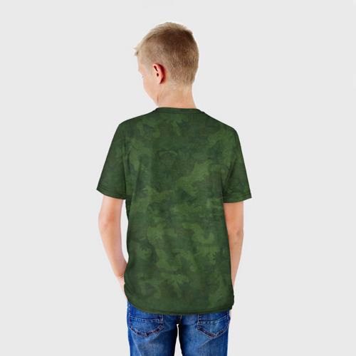 Детская футболка 3D Отличник погранвойск Фото 01