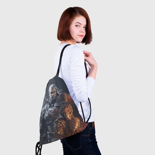 Рюкзак-мешок 3D Геральт из Ривии Фото 01