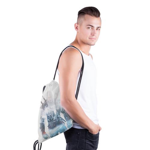 Рюкзак-мешок 3D Геральт Охота Фото 01