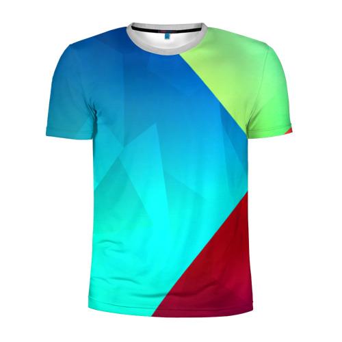 Мужская футболка 3D спортивная Freedom