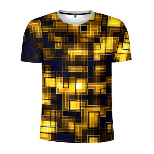 Мужская футболка 3D спортивная Лабиринт