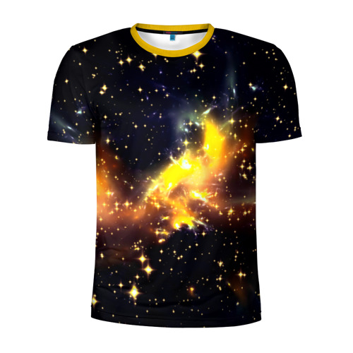 Мужская футболка 3D спортивная Звезды
