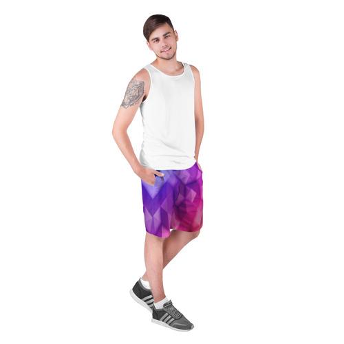 Мужские шорты 3D  Фото 03, Абстракция