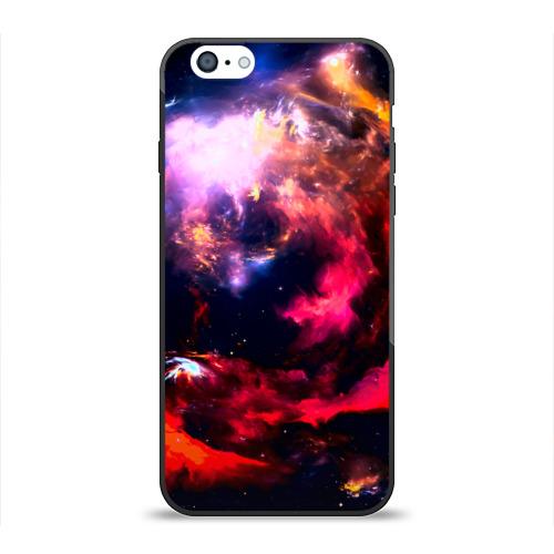 Чехол для Apple iPhone 6 силиконовый глянцевый Космос от Всемайки