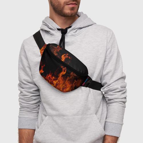 Поясная сумка 3D Огонь Фото 01