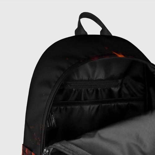 Рюкзак 3D Огонь Фото 01
