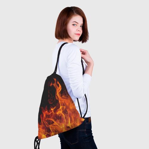 Рюкзак-мешок 3D Огонь Фото 01