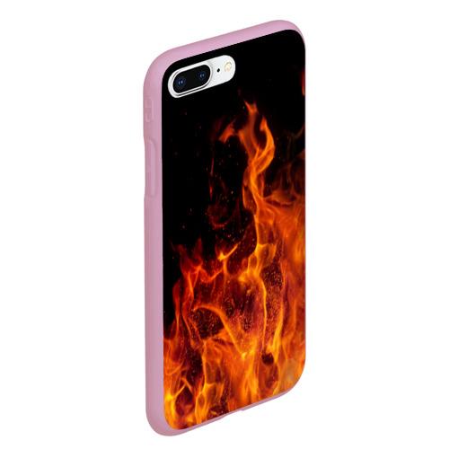 Чехол для iPhone 7Plus/8 Plus матовый Огонь Фото 01