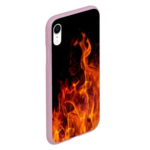 Чехол для iPhone XR матовый Огонь Фото 01