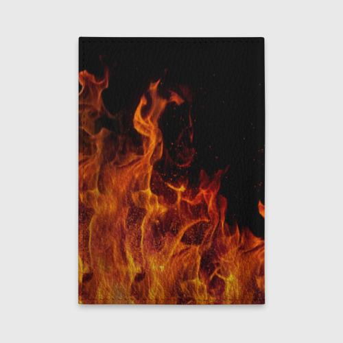 Обложка для автодокументов Огонь Фото 01