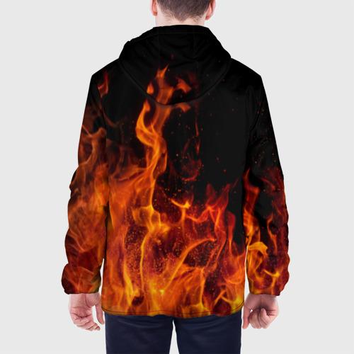 Мужская куртка 3D Огонь Фото 01